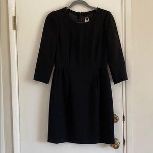 Quality warm black dress J Crew